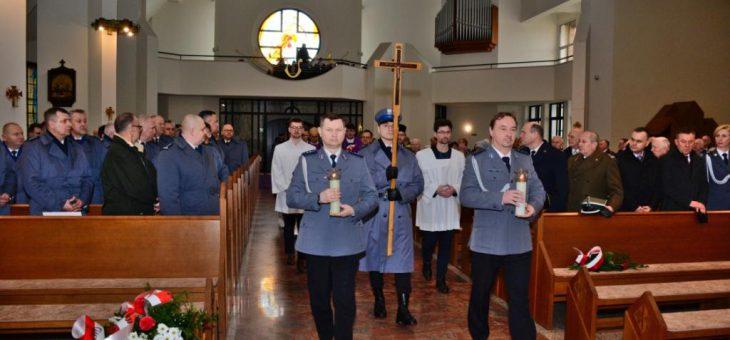 Msza św. w intencji poległych i pomordowanych funkcjonariuszy policji