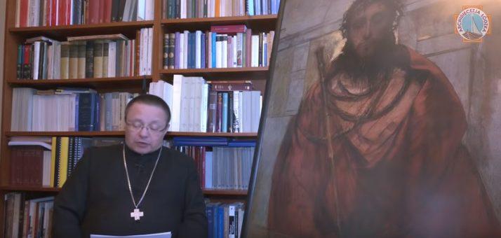 List arcybiskupa metropolity Grzegorza Rysia do mieszkańców Archidiecezji Łódzkiej na temat pandemii koronowirusa.