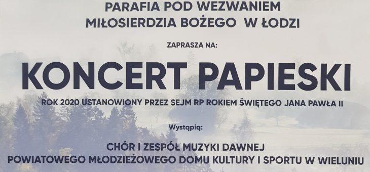 Koncert Papieski 11.10.2020
