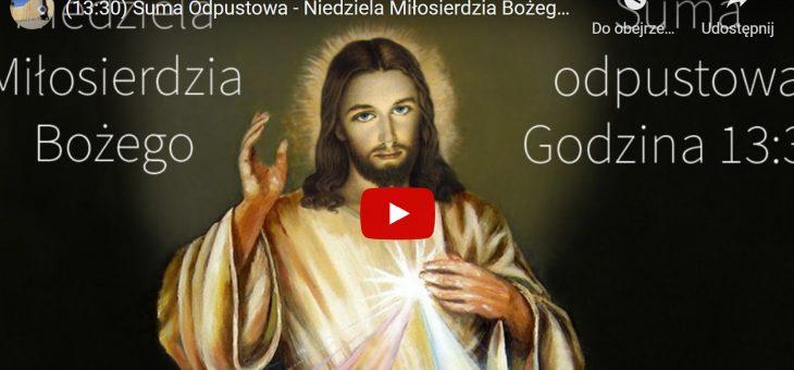Parafialny Odpust ku czci Bożego Miłosierdzia